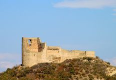 Fortress of Bebris Tsikhe Royalty Free Stock Photography