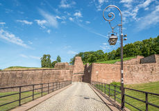 Fortress in Belfort Stock Photography