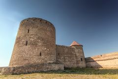 Fortress Belgorod Dniester Royalty Free Stock Images