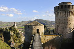 Fortress and bell tower Stock Photography