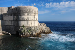 Fortress Bokar in Dubrovnik, Croatia Stock Photo