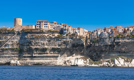 Fortress of Bonifacio, Corsica island, France Royalty Free Stock Photography