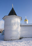 Fortress of Boris and Gleb's cathedral, Dmitrov Royalty Free Stock Photos
