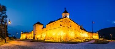 Fortress of Brasov, Transylvania, Romania Stock Photos