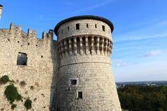 Fortress of Brescia Stock Image