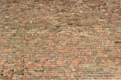 Fortress brick wall Stock Photo