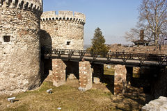 Fortress bridge Stock Photo