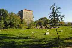Fortress of butrinti Royalty Free Stock Photo