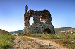 Fortress Calamita, Inkerman. In the Crimea, Ukraine Stock Photos