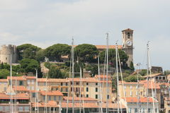 Fortress in Cannes, France Royalty Free Stock Photos