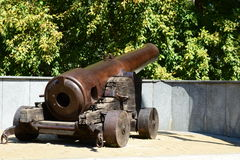 Fortress cannon «Spandau» Stock Photos