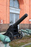 Fortress cannon royalty free stock image
