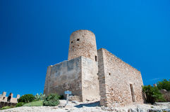 Fortress of Capdepera Stock Photo