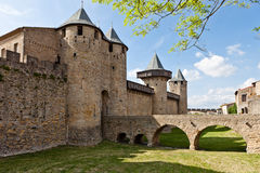 Fortress in Carcassonne Royalty Free Stock Image