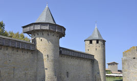 The fortress of Carcassonne Royalty Free Stock Image
