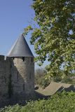 The fortress of Carcassonne Stock Photos