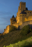 Fortress of Carcassonne - France Royalty Free Stock Photography