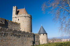 Fortress of Carcassonne Stock Images