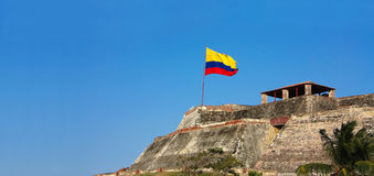 Fortress of Cartagena, Colombia Royalty Free Stock Images
