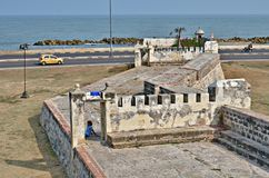 Fortress Cartagena Colombia Royalty Free Stock Image