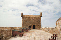 The fortress of Castelo Real of Mogador at Essaouira, Morocco Stock Photography
