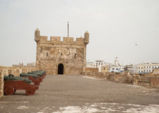 The fortress of Castelo Real of Mogador at Essaouira, Morocco Stock Photo