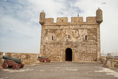 The fortress of Castelo Real of Mogador at Essaouira, Morocco Stock Image