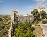 Fortress at Castiglione del Lago Royalty Free Stock Photography