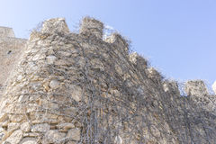 Fortress and castle of Consuegra in Toledo, Spain. medieval fort Royalty Free Stock Photo