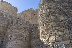 Fortress and castle of Consuegra in Toledo, Spain. medieval fort Stock Photography
