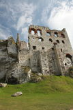 The Fortress. Castle ruins in Ogrodzieniec (Poland Stock Photo