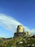 Fortress Cembalo. The fortress Cembalo, Balaklava, Sevastopl, Ukraine Royalty Free Stock Photography