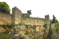 Fortress  Cesta  in San Marino Stock Photography