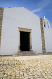 Fortress chapel. A small chapel within the fort outside of Sagres, Portugal Royalty Free Stock Photos