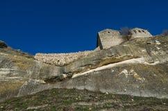 Fortress Chufut-Kale Crimea Royalty Free Stock Images
