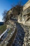 Fortress Chufut-Kale Crimea Royalty Free Stock Photography