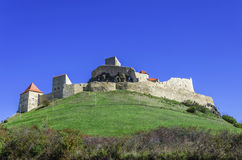 Fortress ( Citadel ) of Rupea stock images