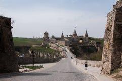 Fortress in the city of Kamyanets-Podilsky Khmelnytsky region of Ukraine. Royalty Free Stock Photography