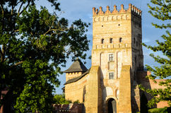 fortress in the city royalty free stock photography