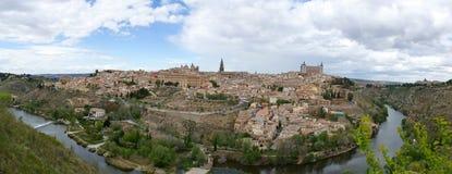 The fortress city of toledo Stock Photo
