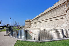 Fortress  in Civitavecchia Royalty Free Stock Photo
