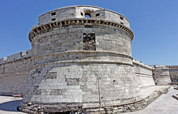 Fortress  in Civitavecchia Stock Photography