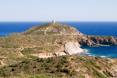 Fortress on the coast Stock Photo