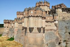 The Fortress of Coca Royalty Free Stock Photography
