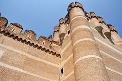 The Fortress of Coca (Low Angle) Royalty Free Stock Photography