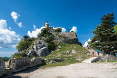 The fortress in Corfu city, Greece Royalty Free Stock Photo