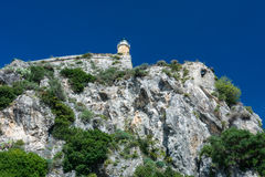 The fortress in Corfu city, Greece Stock Image