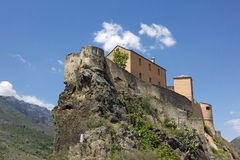 Fortress of corte Royalty Free Stock Photography