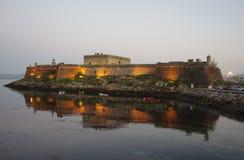 Fortress in A Coruna. Stock Photo