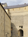 Fortress courtyard, sedan Stock Image